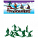 Игрушка TOY BOARDERS SNOW 1 GREEN