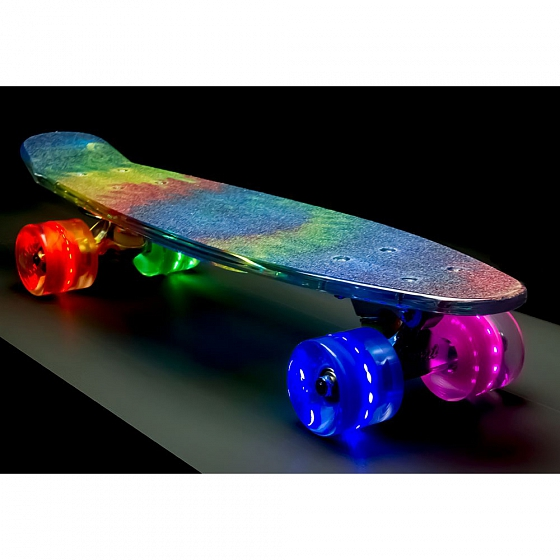 КОМПЛЕКТ СКЕЙТБОРД SUNSET SKATEBOARDS TIE DYE GRIP COMPLETE 22 SS15 от SUNSET SKATEBOARDS в интернет магазине www.traektoria.ru - 2 фото
