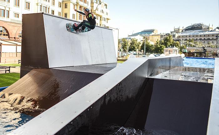 Вейкборд катания в Москве