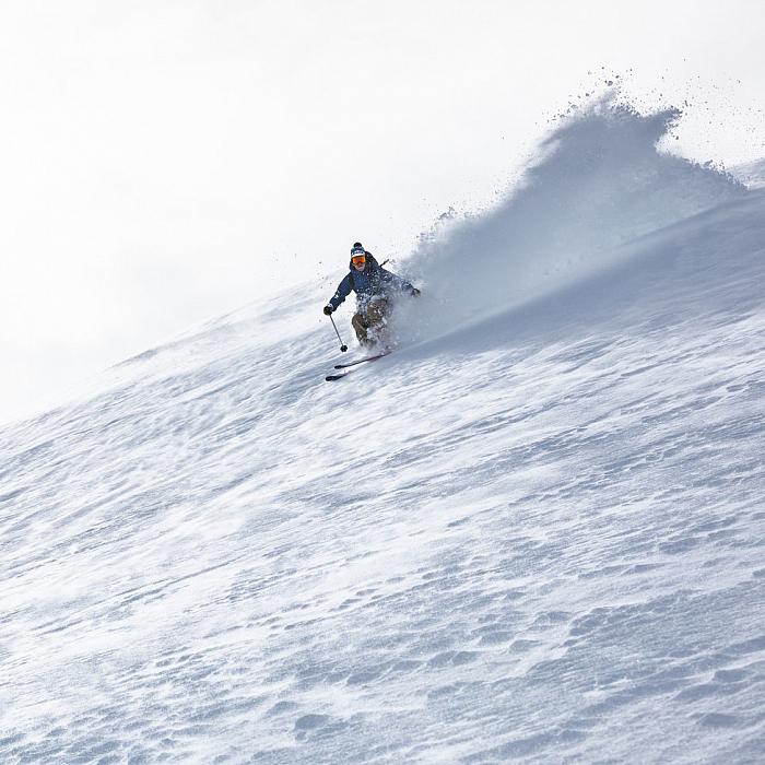 горные лыжи катания