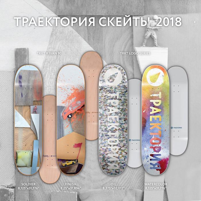 Скейтборды Траектория