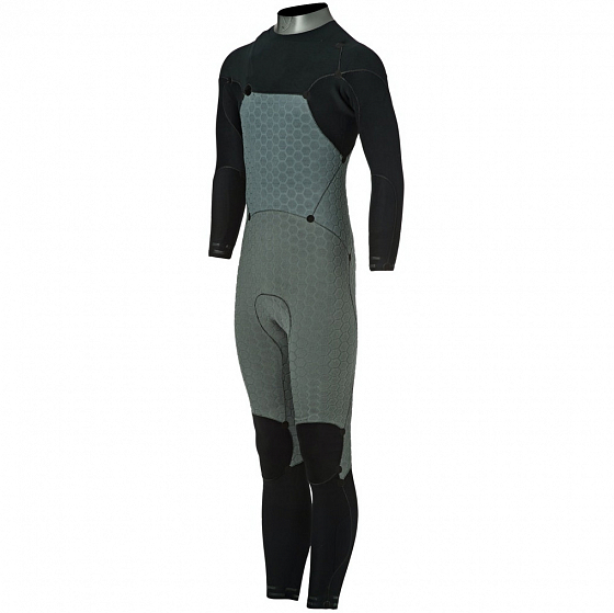 ГИДРОКОСТЮМ Hurley M ADVANTAGE MAX 3/3 MM FULLSUIT  SS20 от Hurley в интернет магазине www.traektoria.ru - 5 фото