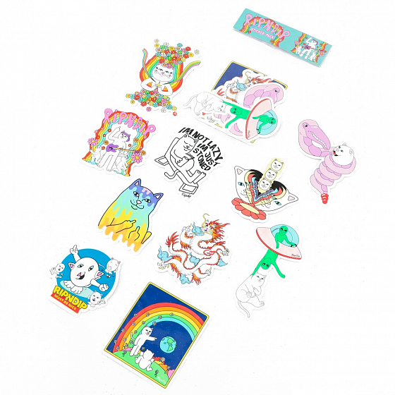 RIPNDIP SUMMER 20 STICKER PACK SS20 от RIPNDIP в интернет магазине www.traektoria.ru - 1 фото