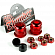 Бушинги THUNDER TRUCKS REBUILD KIT RED