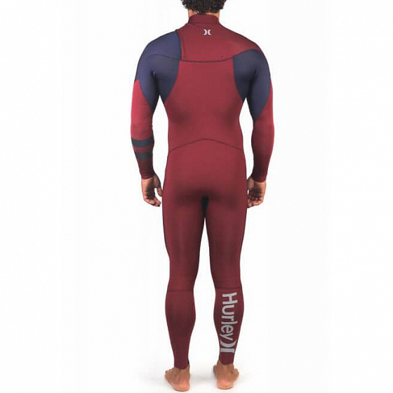 ГИДРОКОСТЮМ Hurley M ADVANTAGE 4/3MM FULLSUIT  FW21 от Hurley в интернет магазине www.traektoria.ru - 2 фото