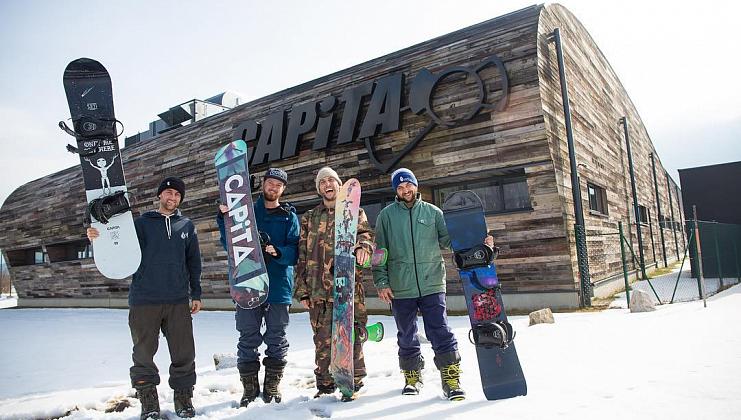 форма сноубордов