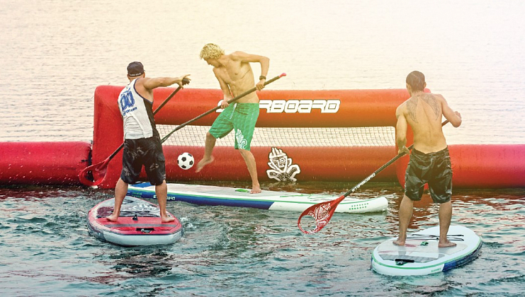 Sup Polo и Sup Yoga на European Wakesurf Tour 2017. 30 июля
